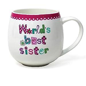 Worlds best sister mug gift