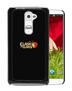 Amazon.com: LG G2 Case,Aj Clash Of Clans Logo Art Dark Game Black LG