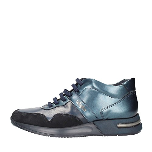 Callaghan 91302 Sneakers Uomo Pelle E Camoscio Blu Blu 44