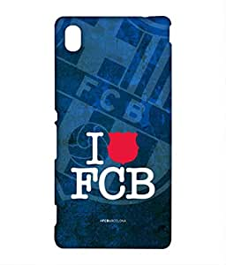 Block Print Company THE FCB PLEDGE Phone Cover for Sony M4 Aqua
