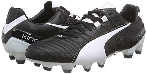 Puma King II FG, Herren Fußballschuhe, Schwarz (black-white 08), 42 EU (8 Herren UK) -