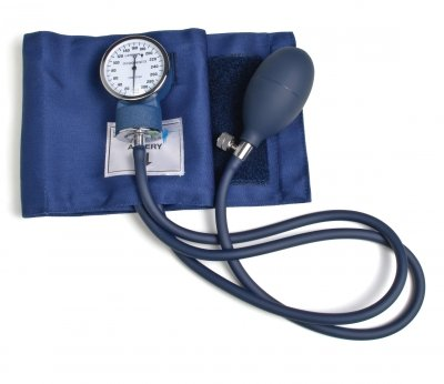 Lumiscope 100-001LA Professional Aneroid Sphygmomanometer, Cotton - Large Adult (Cotton Blood Pressure Cuff compare prices)