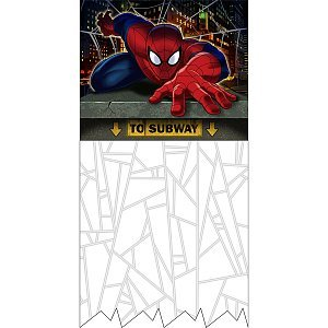 Spiderman Dream Party Doorway Curtain