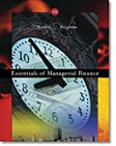 Essentials of Managerial Finance -13th edition