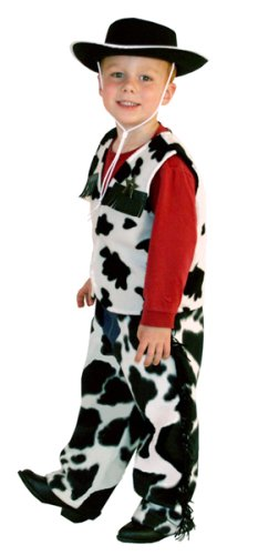 Deluxe Cowboy Dress-up Costume - Size Large (ages 5-7) - Buy Deluxe Cowboy Dress-up Costume - Size Large (ages 5-7) - Purchase Deluxe Cowboy Dress-up Costume - Size Large (ages 5-7) (Little Adventures, Toys & Games,Categories,Pretend Play & Dress-up,Costumes,Occupations)