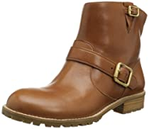Big Sale Best Cheap Deals Marc by Marc Jacobs Women's Buckled Strap Flat Ankle Boot,Tan,39.5 EU/9.5 M US
