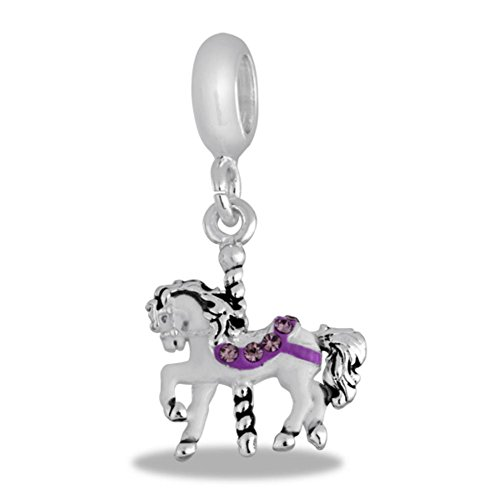 Davinci Carousel Horse Bead front-1054416