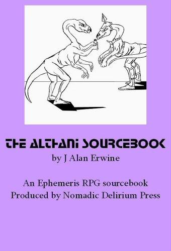 The Althani Sourcebook: An Ephemeris Rpg Supplement