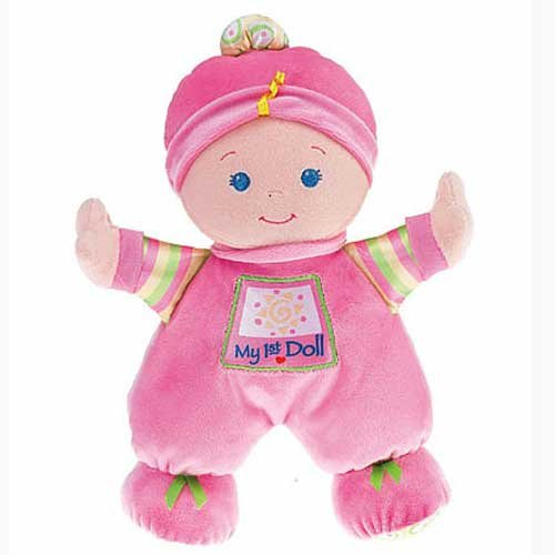 Fisher Price Brilliant Basics My First Doll
