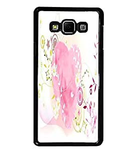 PrintDhaba Heart D-2122 Back Case Cover for SAMSUNG GALAXY A7 (Multi-Coloured)