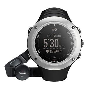 Suunto Ambit2 S Graphite HR - Reloj deportivo (Dot-matrix, 50 x 50 x 15.5 mm, 72 g, Grafito, Plata, Incorporado, 25 h)