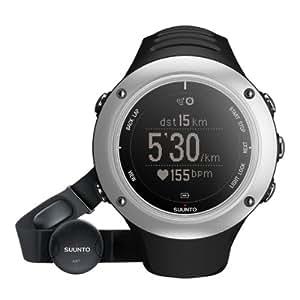 GPS Uhr / Multifunktionsuhr / Herzfrequenzmesser Ambit2 S Graphite HR - inkl. Brustgurt