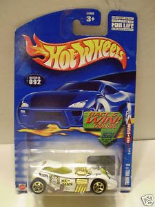 "Hot Wheels Twin Mill II ""He-Man"" CODE CARD #92 (2002) - 1"