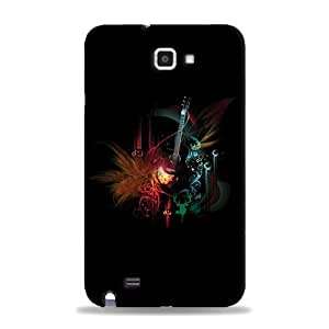 Samsung Galaxy Note printed back cover (3D)RK-AD016