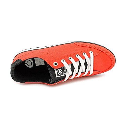 C1RCA Men's 50 Classic Skateboarding Shoe,Red,11 M US