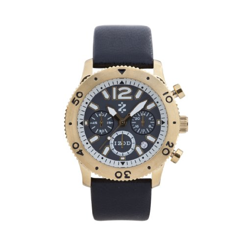 IZOD Men's IZS6/7 YELLOW GOLD Sport Quartz Chronograph Watch