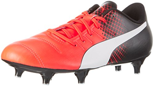 Puma Evopower 4.3 Sg Scarpa da Calcio, Rosso (Rot (Red blast-puma white-puma Black 01)), 11