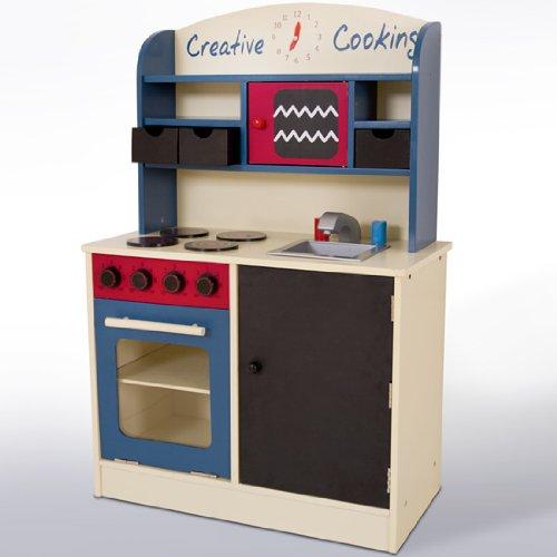 Infantastic® KDK02 Cucina giocattolo per bambini in legno