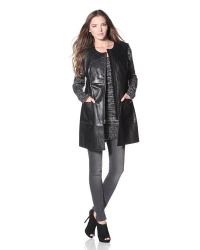 Cote by IMPROVD Women's Ciera Reversible Vest  - Black