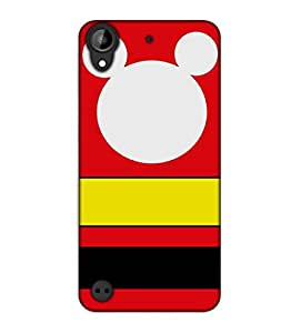 Happoz HTC Desire 530 Cases Back Cover Mobile Pouches Shell Hard Plastic Graphic Armour Premium Printed Designer Cartoon Girl 3D Funky Fancy Slim Graffiti Imported Cute Colurful Stylish Boys D384