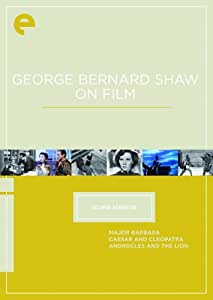 Eclipse Series 20: George Bernard Shaw on Film (Major Barbara / Caesar and Cleopatra / Androcles and the Lion) (The Criterion Collection)
