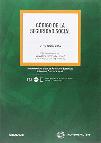Código de la Seguridad Social (21 ed. - 2016) (Código Profesional)