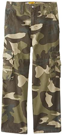 Lee Little Boys' Dungarees Explorer Cargo Pant, Combat Camo, 4 Regular