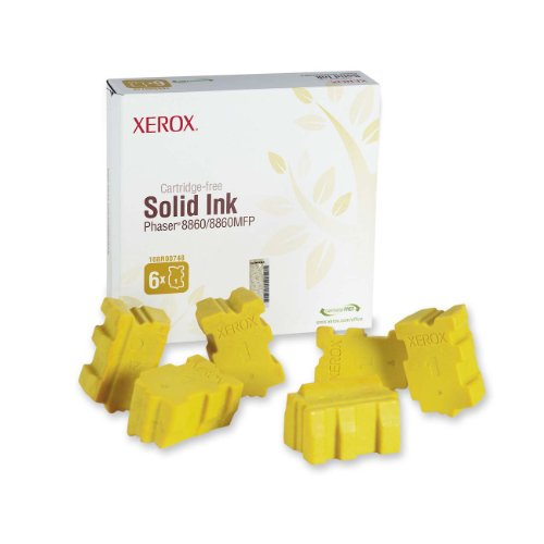 Genuine Xerox Solid Ink Phaser 8860/8860MFP 6 Sticks - Yellow Black Friday & Cyber Monday 2014