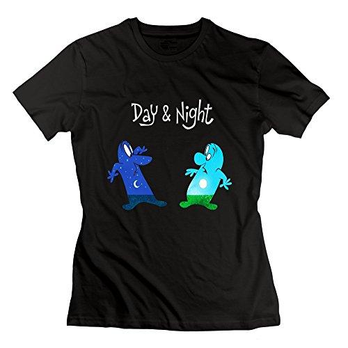 Lianjian Pixar Day Night Logo Women 39 S T Shirt X Large