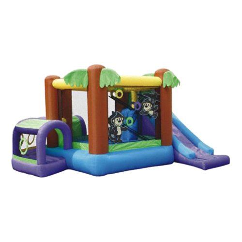 Kidwise Monkey Explorer Jumper Bounce House front-663216
