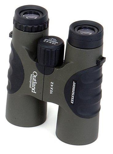 Celestron Outland 10X42 Waterproof Binoculars With Rubber Coating & Comfort Grip