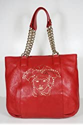 Versace Handbags Red Leather DBFC674 (CLEARANCE)