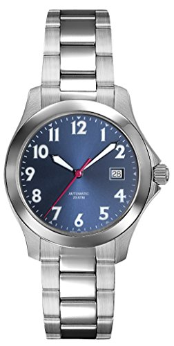 Belair Swiss Made Automatic 20 ATM Men's Blue Dial Watch