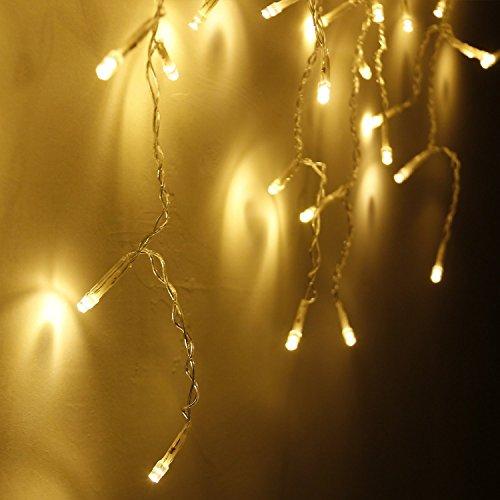 Han-Lucky-Star-35M-96-LED-Lichterkette-Vorhanglichter-die-Form-des-Eiszapfens-Lichter-fr-Schlafzimmer-Weihnachten-Neujahr-Haus-Garten-Hochzeit-Hotel-und-Restaurant