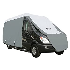 Classic Accessories 80-103-141001-00 Overdrive PolyPro III Deluxe Class B RV Cover, Fits Up To 20' RVs