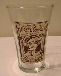 Coca Cola 16 Oz. Recreation of the Original Flair Glass - 1 Glass