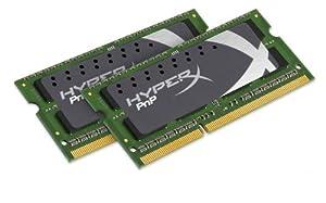 Kingston HyperX Plug n Play 8 GB Kit (2x4GB Modules) 1866MHz DDR3 SODIMM Notebook/Netbook Memory 8 Dual Channel Kit (PC3 15000) 204-Pin KHX1866C11S3P1K2/8G