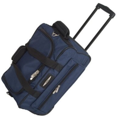 Jeep Cabin Approved 18'' Wheeled Luggage Bag (Navy)