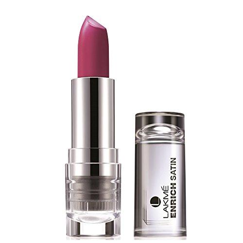 Lakme Enrich Satins Lip Color, Shade P163, 4.3 g