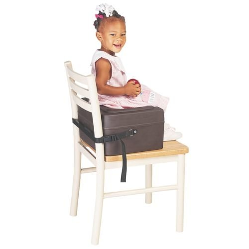 Booster Seat W/ Safety Strap - Black front-700356
