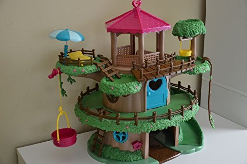 Lil Woodzeez Family Treehouse 22-Piece Playset - Can Be Used With All Families, Furniture, and Accessories - Ages 3+ (Lil Woodzeez Treehouse compare prices)