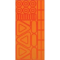 Nathan Helmet/Cycling Stickers, Orange