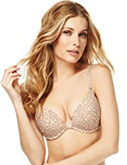 Underwired 2 Cup Sizes Bigger Push-Up A-D Bra