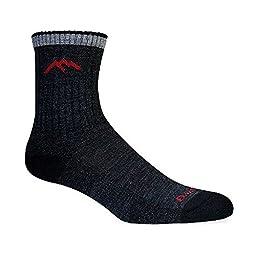 Darn Tough Merino Wool Micro Crew Sock Cushion,Black,X-Large