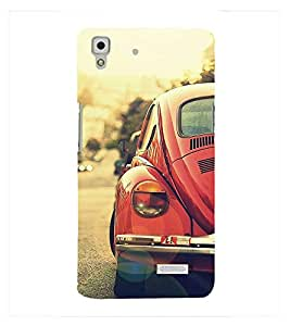 Fuson Premium Printed Hard Plastic Back Case Cover for Oppo R7