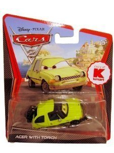 Disney / Pixar CARS 2 Movie 155 Die Cast Car Acer with Blow Torch
