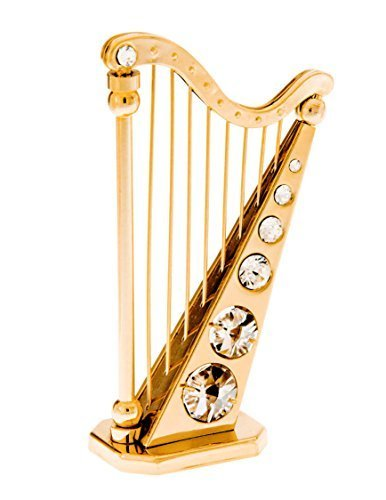 harp-24k-gold-plated-figurine-with-swarovski-crystals-by-crystal-temptations
