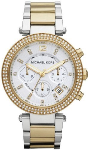 Michael Kors Women'S Mk5626 Parker Gold/Silver Watch front-1018596