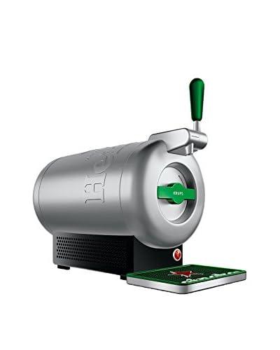 Krups  Dispensador De Cerveza The Sub Diamond VB650E10 Plateado / Verde