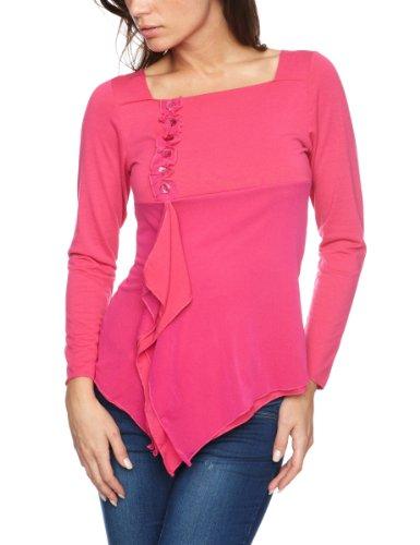 James Lakeland Patterned Women's T-Shirt Fuxia Size 12